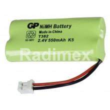 Батерия пакет 2.4V/550mAh