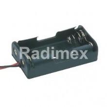 Държач за батерии 2 х АА - 1