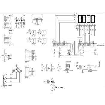 Ардуино 49 - Учебен многофункционален модул