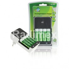 Зарядно устройство HQ-CH02E + 4 батерии