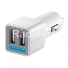 Адаптер USB, 12V - 2x5V/2100mA