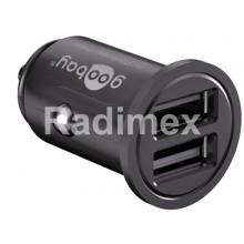 Адаптер USB, 12V - 2x5V/2400mA