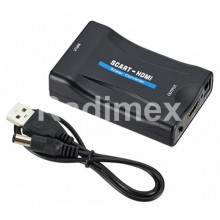 Преходник SCART женски - HDMI женски