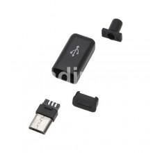 Букса micro USB B - за кабел