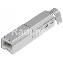 Букса USB B-за кабел