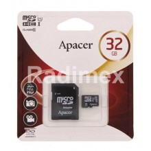 Micro SD карта памет 32GB APACER