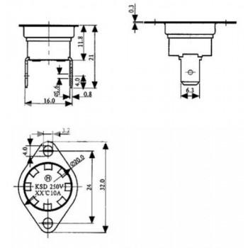 Термостат BTH85V