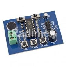 Модул с вграден микрофон за запис и възпроизвеждане на звук