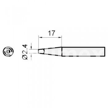 Човка за поялник SI216N-2.4D