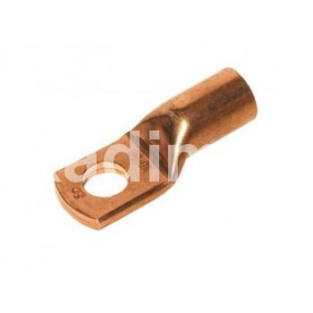 Кабелна обувка, ухо, цилиндрична, мед, 10mm, OCZ010/10