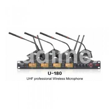 Безжична конферентна ситема с 4 микрофона U180