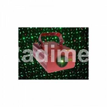 Лазер - зелен и червен