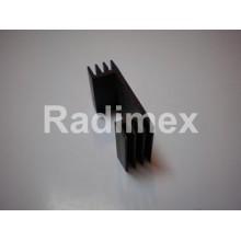 Радиатор 43 х 13 х 25