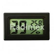 Цифров термометър за измерване на температура и влага TH003