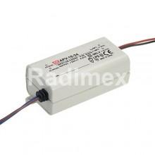 Захранващо устройство за светодиодно осветление APV-25-12V