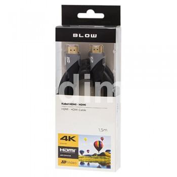 Кабел HDMI,М-HDMI,М-1.50м  4K