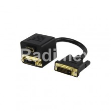 Кабел DVI,M-DVI,Ж+HDMI,Ж