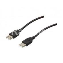 Кабел USB A,М-USB A,М - 3,00m