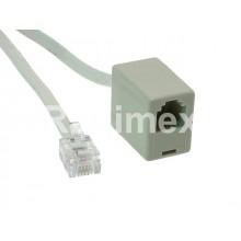 Удължителен телефонен кабел-7,50м
