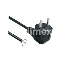 Захранващ кабел без букса-3х1,50мм2