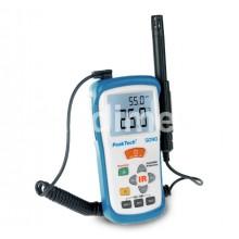 Инфрачервен термометър с влагомер PEAKTECH 5090, -50...+500°C