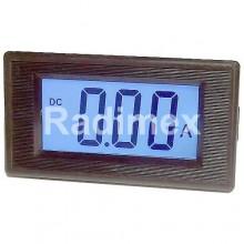Цифров панелен амперметър, 10A DC