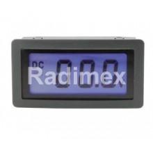 Цифров панелен волтметър LCD20, 0-20 V/DC