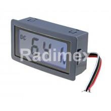 Цифров панелен волтметър LCD200, 0-200 mV/DC