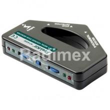 Безконтактен детектор на метал и  напрежение NT6352