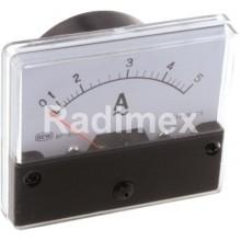 Аналогов панелен амперметър PAN670, 0-5 A/AC