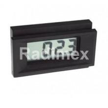 Цифров панелен волтметър PM128, 0-200 mV/DC
