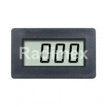 Цифров панелен волтметър PM438, 0,2-20-200-500V DC