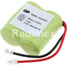 Батерия пакет 2.4V/300mAh