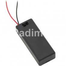 Държач за батерии 2 х ААА без ключе