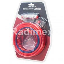 Комплект кабели за свързване за автомобилен усилвател AW300