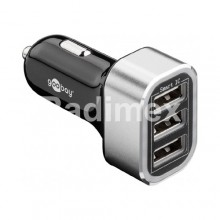 Адаптер USB, 12V - 3x5V/1830mA