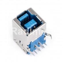 Букса USB B 3.0 - за печатен монтаж