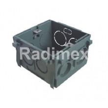 Монтажна кутия за вграждане в стена 80x77x52мм, VC1