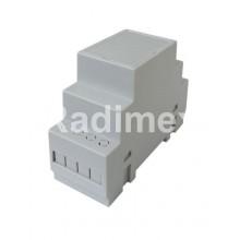Монтажна кутия DIN шина 35x65x90мм, Z106F