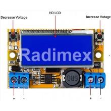 DC-DC step-down модул 2A с LCD дисплей