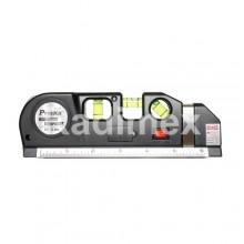 Лазерен нивелир с ролетка PD161C