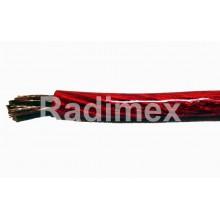 Захранващ кабел 6мм2 силиконов червен