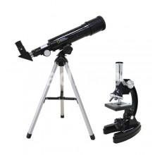 Телескоп с микроскоп Bresser National Geographic Set