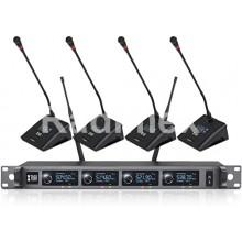 Безжична конферентна ситема с 4 микрофона A140