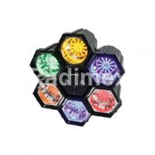 Цветомузика - 6 цвята