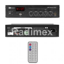 Усилвател 100V PDM45 (Bluetooth,USB, FM, RC)