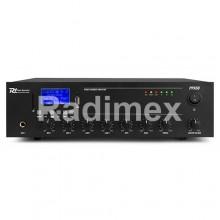 Усилвател 100V PPA50 (Bluetooth,USB, SD, AUX, MIC, RC)