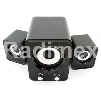 Мини звукова система Q500F 2.1