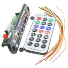 MP3 модул за вграждане с дисплей USB/SD/FM/BT