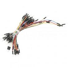 Свързващи кабели за бредборд 65бр.